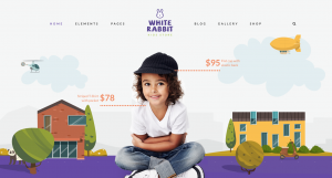 theme wordpress site boutique ecommerce enfants