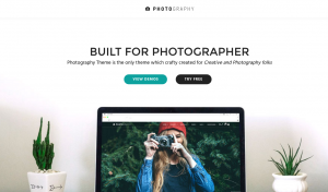 theme wordpress photographie