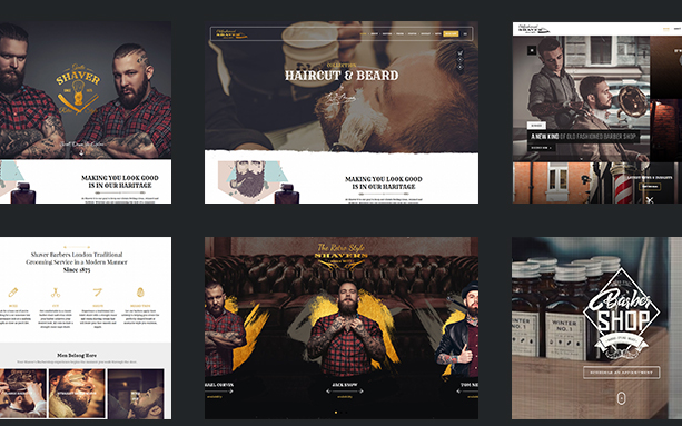 theme wordpress barbier