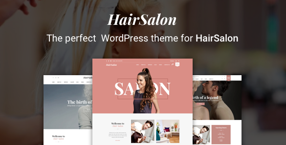 theme wordpress salon coiffure