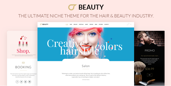 theme wordpress salon de coiffure