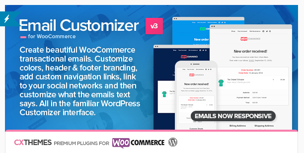 plugin wordpress woocommerce emails personnalisation