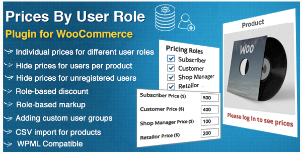 plugin wordpress woocommerce user roles price