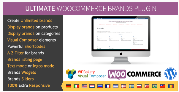 plugin woocommerce marques