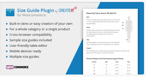 plugin size guide wordpress woocommerce