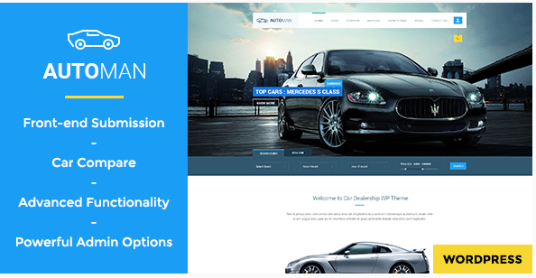 theme wordpress automobile comparateur