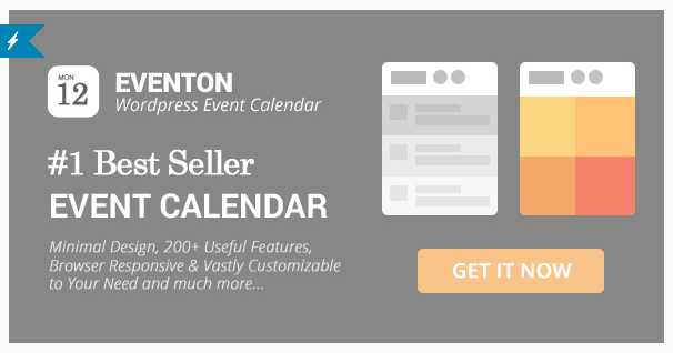 eventon plugin wordpress evenements
